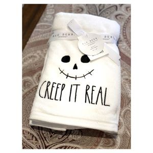 Rae Dunn Creep it Real Set of two Hand Towels